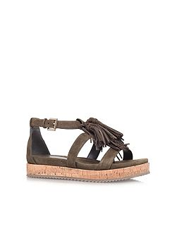 Meadow flat strappy sandals