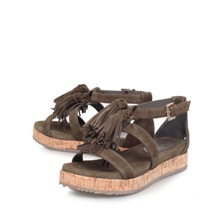 KG Meadow flat strappy sandals