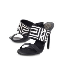 Hula high heel slip on sandals