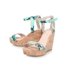Kling high wedged sandals