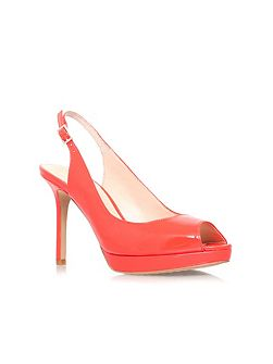 Cavi high heel slingback shoes