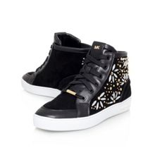 Nadine lace-up high tops trainers