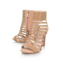 Katal high heel strappy shoe boots
