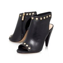 Abbia high heel peep toe ankle boots