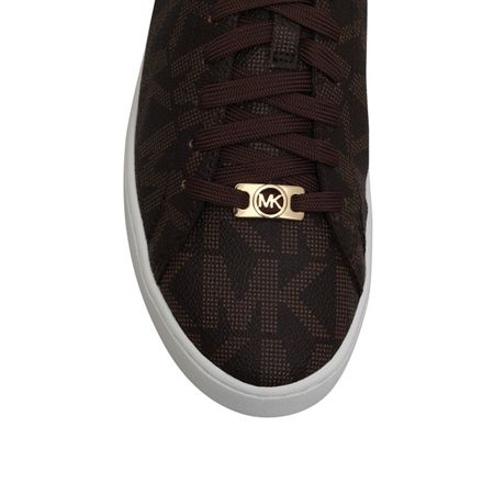 Michael Kors Keaton flat lace up trainers