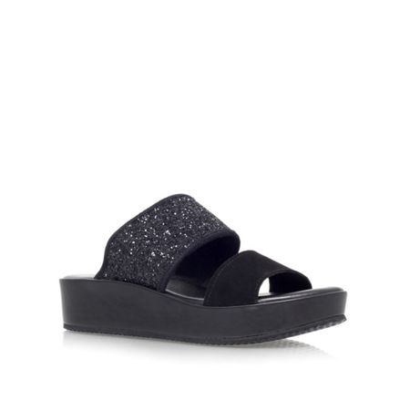 KG Myth flat platform slip on sandals