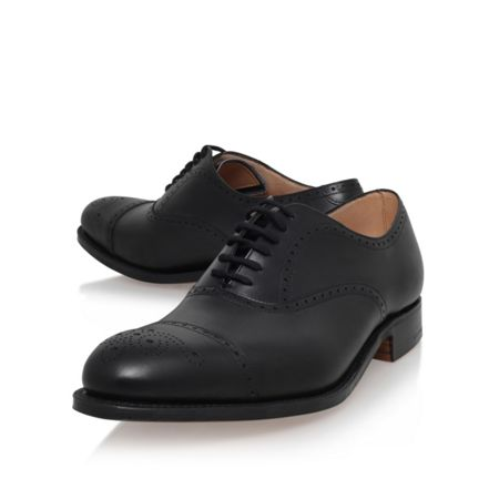 Church Toronto punched toecap leather shoe