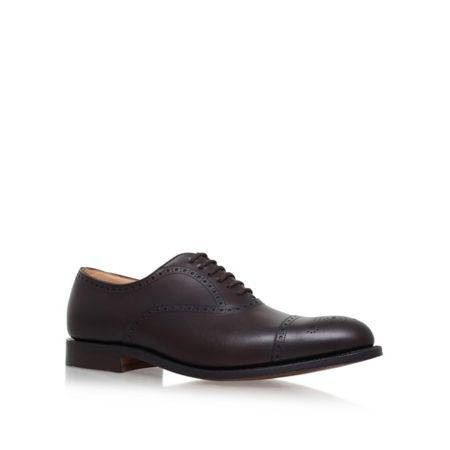 Church Toronto punched tcap ox leather shoe