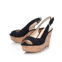 Nine West Caballo high heel wedge shoes