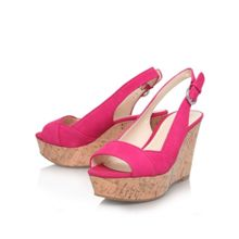 Caballo high heel wedge shoes