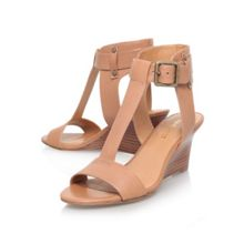 Rileigh low wedge heel sandals