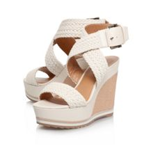 Nine West Waldrid2 high heel platform sandals