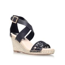 Marina high wedge heel sandals