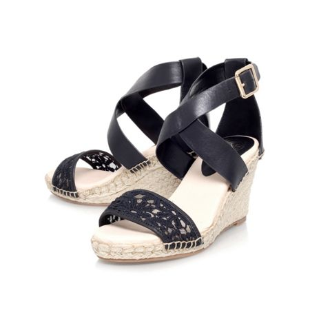 KG Marina high wedge heel sandals