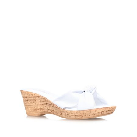 Carvela Comfort Skylar wedge slip on sandals