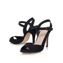 Lou1 suede high heel sandals