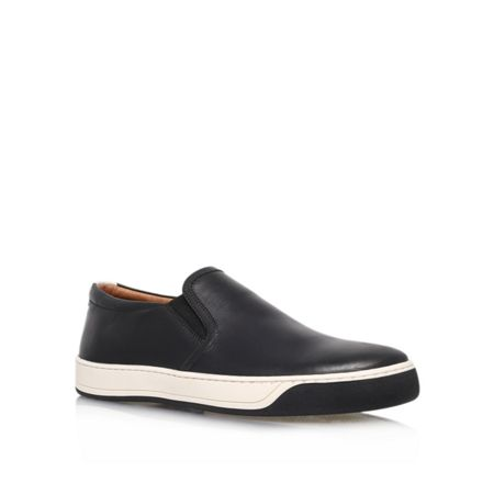 Kurt Geiger Bruford Leather Slip Ons
