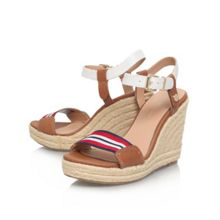 Emery 87c high wedge heel sandals
