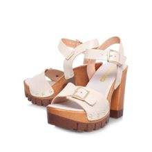 Polly high block heel sandals
