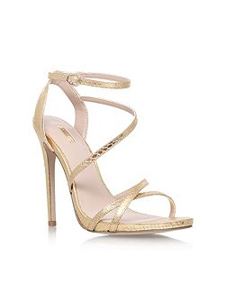 Georgia high heel strappy sandals