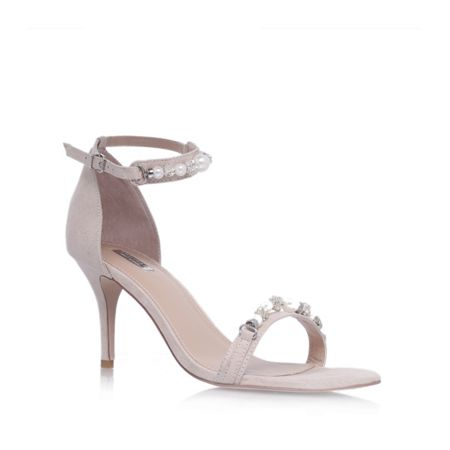 Carvela Gel high heel embellished sandals