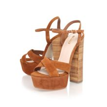 Gerry high block heel platform sandals