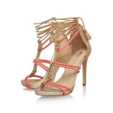 Geranium high heel strappy sandals