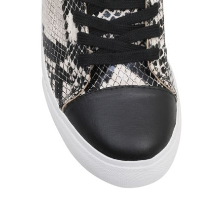 Miss KG Loco flat lace up trainers