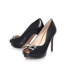 Nine West Finoula high heel peep toe court shoes