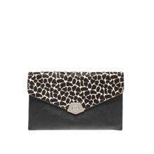 Rock lock clutch handbag