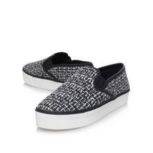 Limpid flat slip on casual trainers