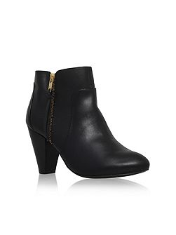 Tiffany mid heel ankle boots