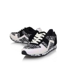 Lioni flat lace up trainers