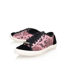 Mellow flat lace up trainers