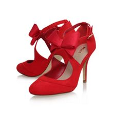 Miss KG Belle bow detail high heel court shoes
