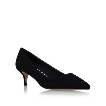 Miss KG Carley low heel court shoes