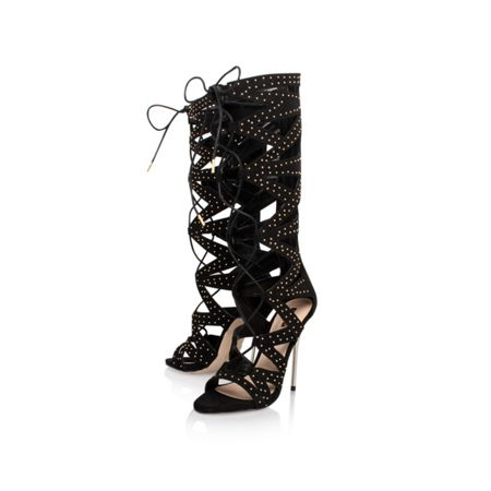 Carvela Gillow lace up knee high sandals