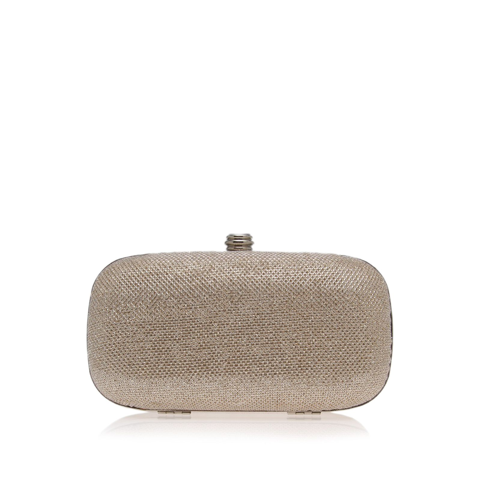 Carvela Darling clutch bag, Silver