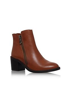 Skim high heel ankle boots
