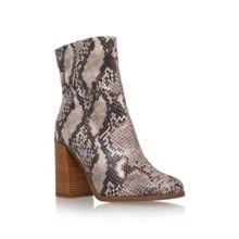 Carvela Slither high block heel boots