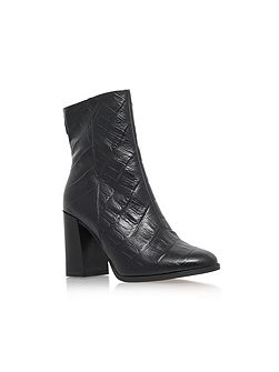 Slither high block heel boots