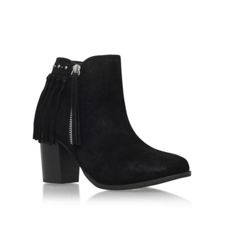 Miss KG Shake mid heel ankle boots with tassels