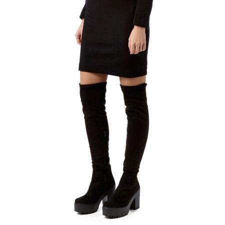 Miss KG Viola high heel knee boots