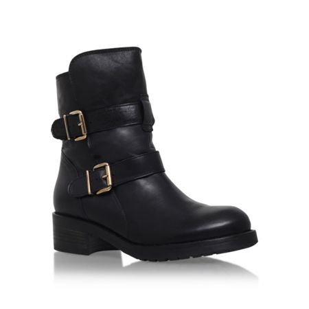 Kurt Geiger Richmond buckle calf high boots
