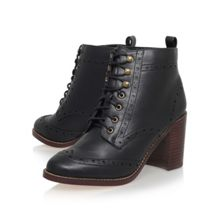 Miss KG Seattle high heel lace up ankle boots