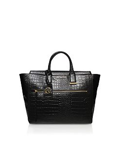 Croc beatrice tote bag