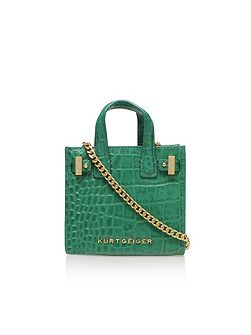 Croc micro london tote bag