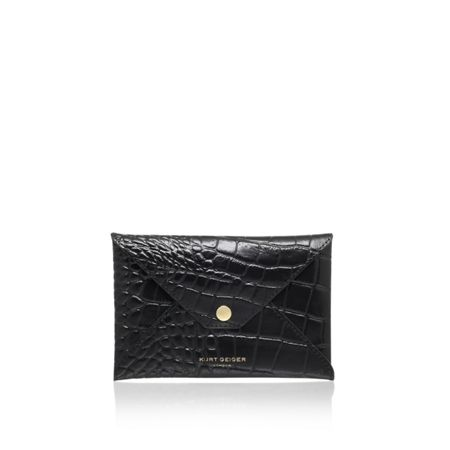 Kurt Geiger London Croc passport holder