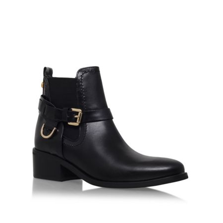 Carvela Saddle buckle ankle boots