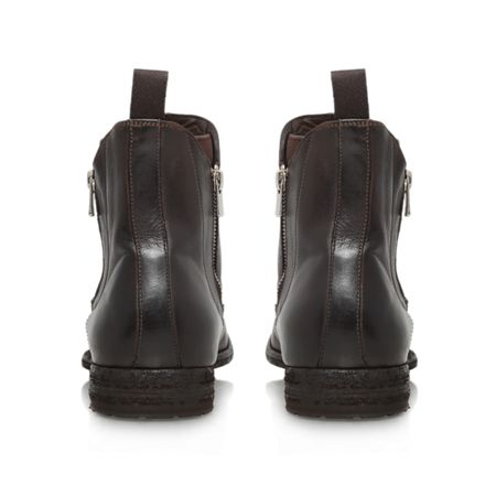 Officine Double zip chelsea zip up ankle boot